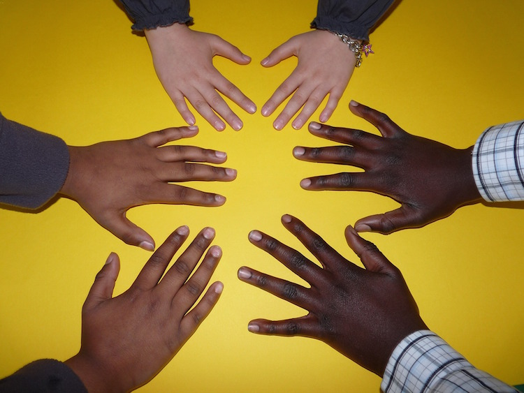 Hands Sharing Responsibility
