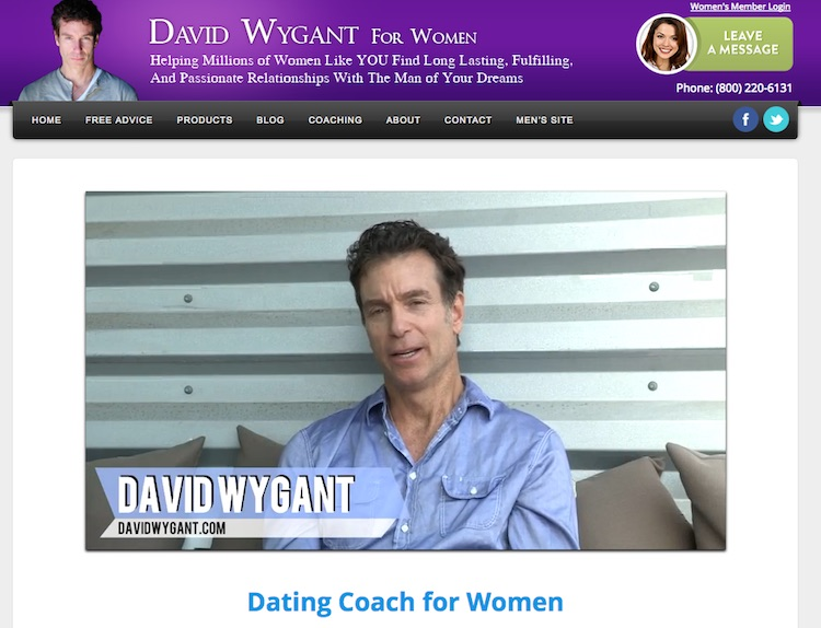 David Wygant Online Dating Tips Videos Best