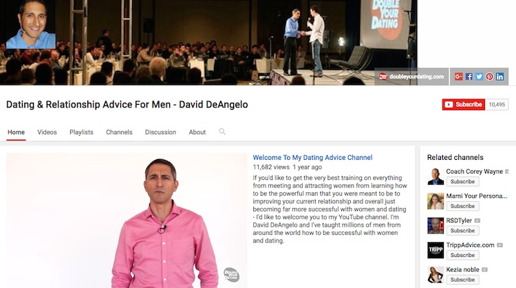 Dating guru david dangelo magic