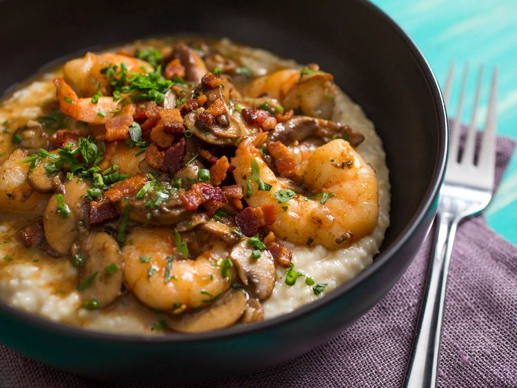 Shrimps and Grits – Paleo Style