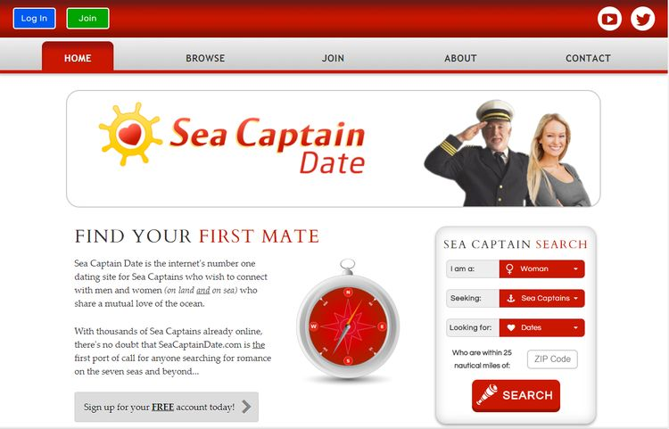 First mate dating site