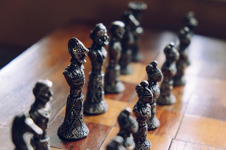 Ancient Chess Set