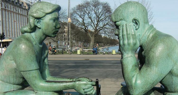 Statues Talking