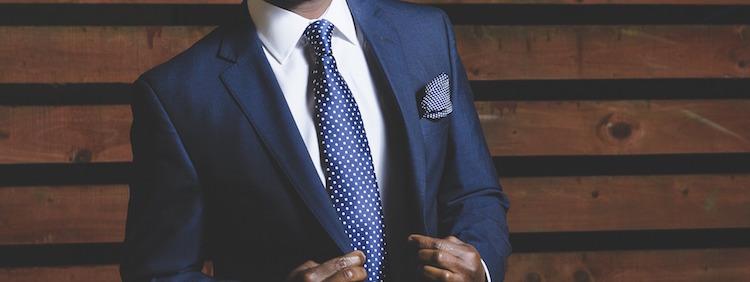 Successful man in Suit