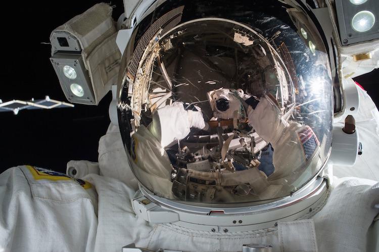 Astronaut in suit