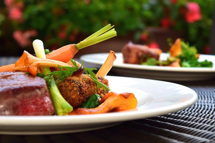Paleo Plate Meat Vegetables